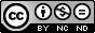 Creative Commons Paternité - Pas d'Utilisation Commerciale - Pas de Modification